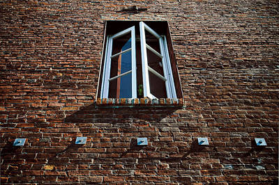 Photograph - Perspective In Brick by Jon Exley