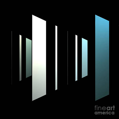 Abstract Painting - Perspective by Maria Julia Bastias