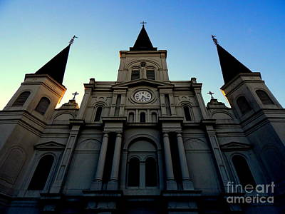 Photograph - St. Louis Cathedral New Orleans by Michael Hoard