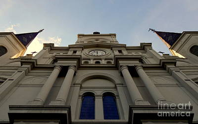 Photograph - St. Louis Cathedral New Orleans Louiisana by Michael Hoard