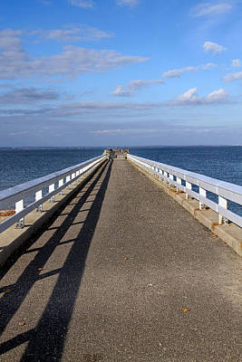 Photograph - Perspective Pier by Bob Slitzan