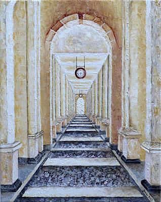 Painting - Perspective View by Draia Coralia