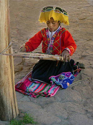 Photograph - Peru 03 by Jeff Brunton