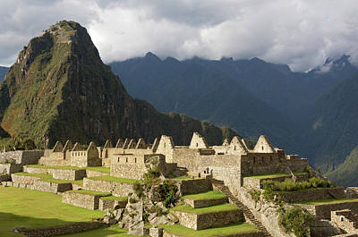 Peru, Close-up Of Machu Picchu Art Print