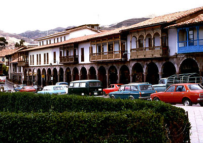 Photograph - Peru - Cusco Central by Robert  Rodvik
