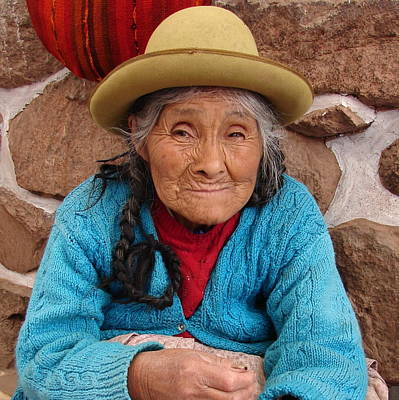 Photograph - Peruvian Beauty by Ramona Johnston