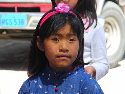 Photograph - Peruvian Girl 1 by Lew Davis