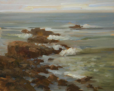 Painting - Pescadero Patterns by Timon Sloane