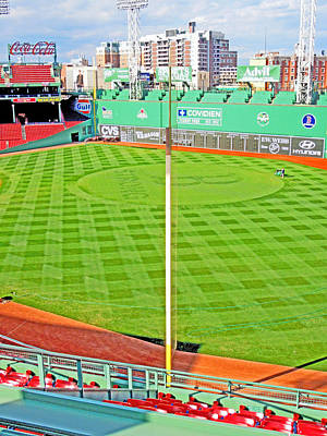 Photograph - Pesky 's Pole At Fenway by Caroline Stella