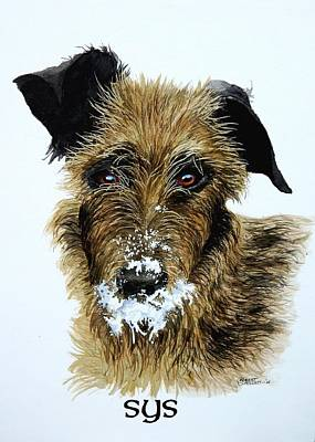 Painting - Pet Portraits Now Available by C Robert Follett