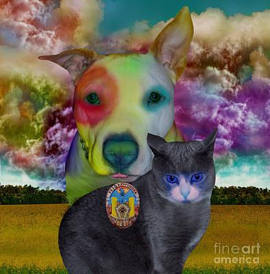 Pet Responders Art Print