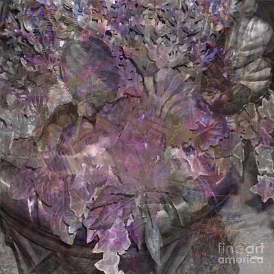 Digital Art - Petal To The Metal - Square Version by John Beck