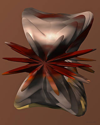 Digital Art - Petals And Stone by Judi Suni Hall