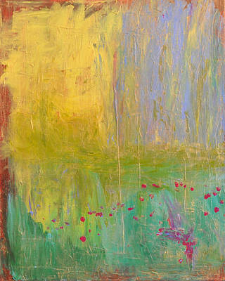 Painting - Petals In The Wind by Paulette B Wright