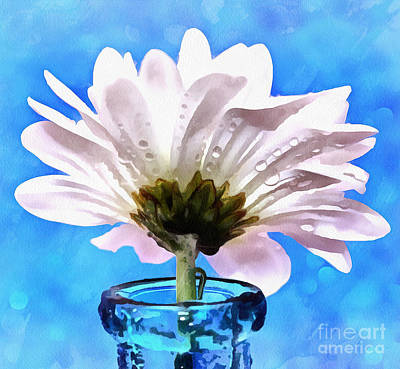 White Flower Photograph - Petals Of Joy by Krissy Katsimbras