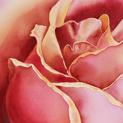 Zoom Painting - Petals Petals I by Irina Sztukowski