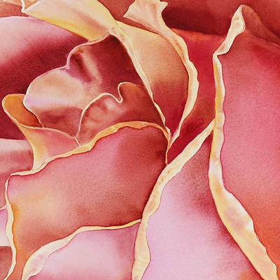 Zoom Painting - Petals Petals II  by Irina Sztukowski