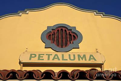 Jason O. Watson Photograph - Petaluma by Jason O Watson