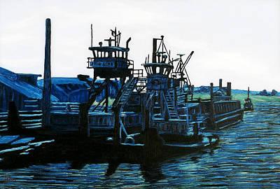 Petaluma Tugboats Art Print by Gerhardt Isringhaus