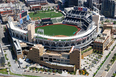 San Diego California Baseball Stadiums Photograph - Petco Park San Diego Ca by Bill Cobb