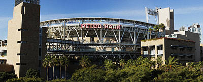 San Diego California Baseball Stadiums Photograph - Petco Park by Stephen Stookey