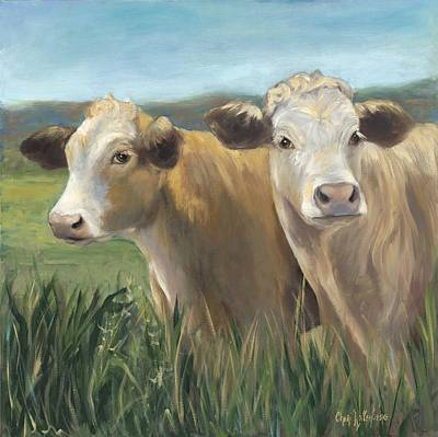 Painting - Pete And Repete by Cheri Wollenberg
