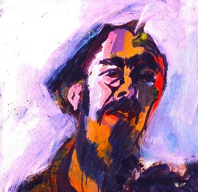 Painting - Pete Seeger by Les Leffingwell