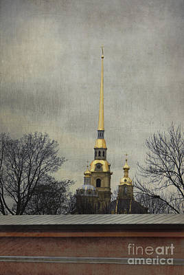 Photograph - Peter And Paul Fortress by Elena Nosyreva