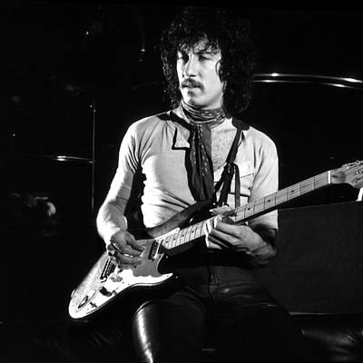 Photograph - Peter Green 1969 In Bw - Square by Chris Walter