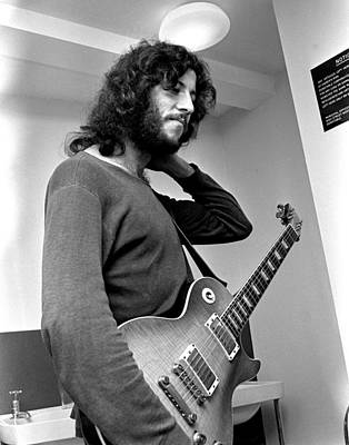 Photograph - Peter Green Fleetwood Mac 1969 by Chris Walter