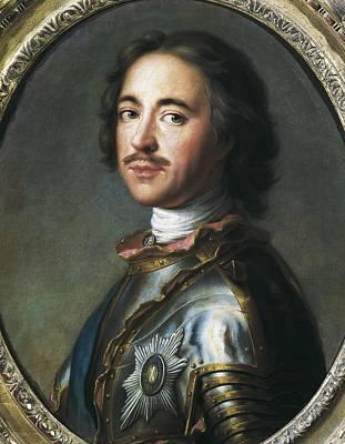 Peter I The Great 1672-1725. Tsar Art Print