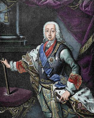 Wavy Hair Photograph - Peter IIi Of Russia (kiel Castle by Prisma Archivo