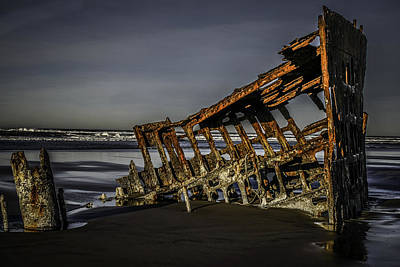 Peter Iredale Photograph - Peter Iredale 2 by George Herbert