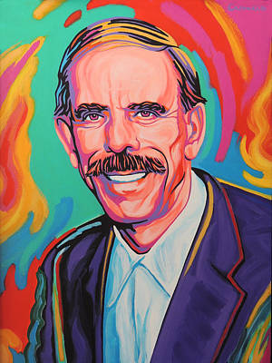 Peter Max Painting - Peter Max by Tarcisio Ciancio