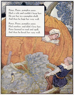 Peter Pumpkin Eater Art Print