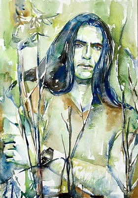 Peter Steele Portrait.1 Art Print by Fabrizio Cassetta