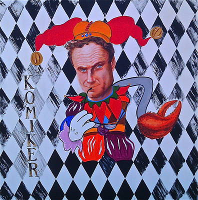 Painting - Peter Wahlbeck The Comedian by Dan Koon