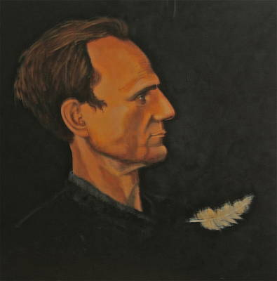 Painting - Peter Wahlbeck The Profile by Dan Koon