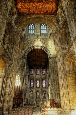 Photograph - Peterborough Cathedral 2 by Fiona Messenger