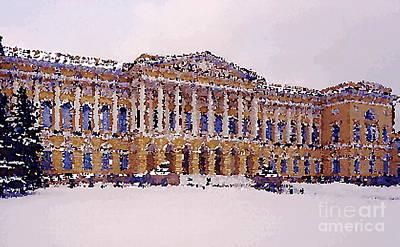 The Church Mixed Media - Peterburg Around by Yury Bashkin
