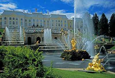 Peterhof Palace Art Print by Dennis Cox WorldViews