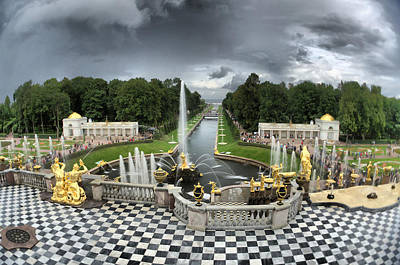 Photograph - Peterhof Palace by Michael Goyberg