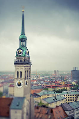 Photograph - Peterskirche  St. Peters Church And by Elisabeth Schmitt