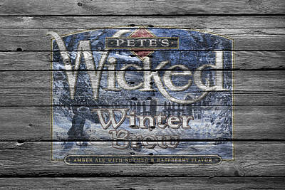 Handcrafted Photograph - Petes Wicked Winter Brew by Joe Hamilton