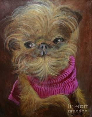 Painting - Petey by Randol Burns