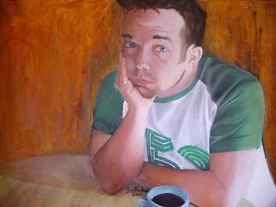 Painting - Petit Dejeuner by Erin Brinkman