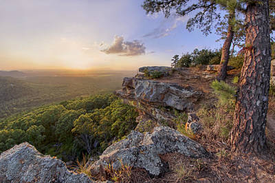 Photograph - Petit Jean Sunset - Arkansas - Ccc Overlook by Jason Politte