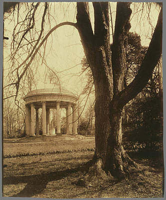 Petit Trianon The Temple Of Love, Petit Trianon Eugène Art Print by Litz Collection