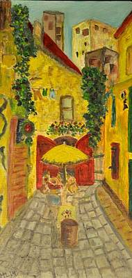 Painting - Petite Rue Arles by Mary LaFever