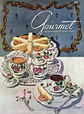 Tableware Photograph - Petits Pots De Creme by Henry Stahlhut